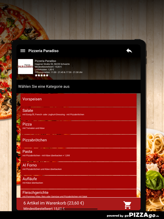 Pizzeria Paradiso Schwerte screenshot 8