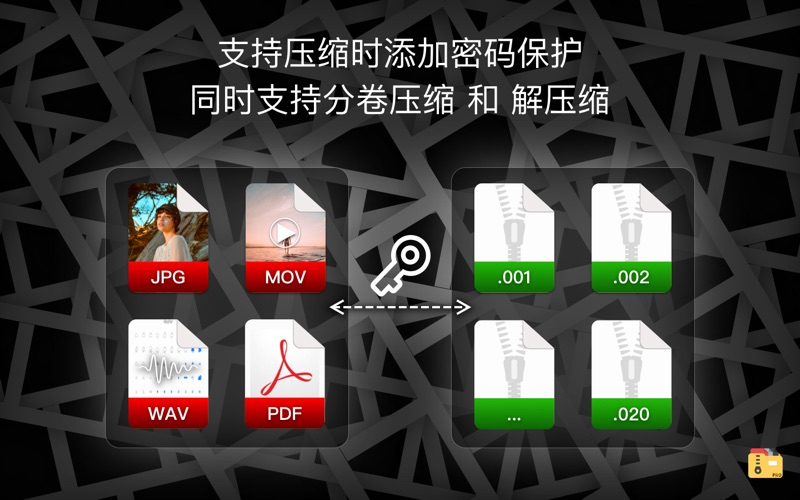 解压专家 Oka Pro- unzip rar 7z压缩包