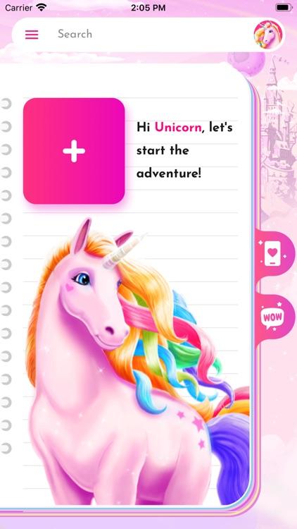 Unicorn Diary (with password) screenshot-9
