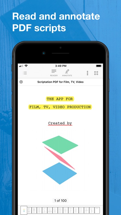 Scriptation: PDF for Film & TV