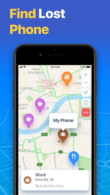 FindMe: Find My Friends, Phone screenshot-5