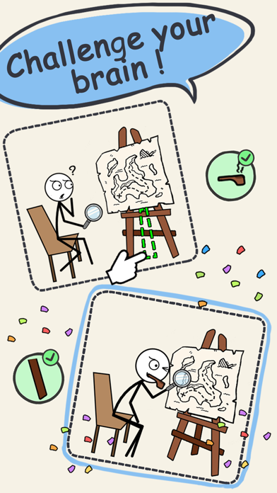 Draw Puzzle 3: missing part screenshot 7
