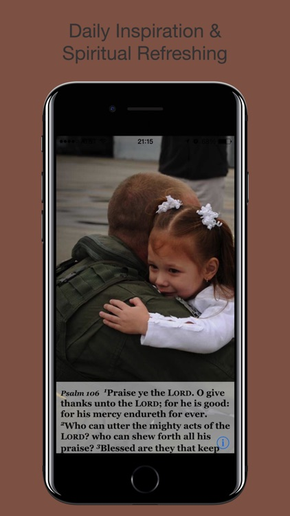 Navy Psalm Daily Quotes KJV screenshot-4