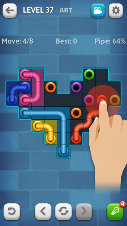 Line Puzzle: Pipe Art screenshot-2