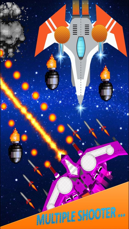 Alien Galaxy Space Attack screenshot-4