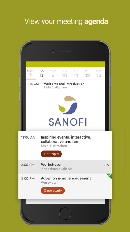 Sanofi Meetings & Events screenshot-4