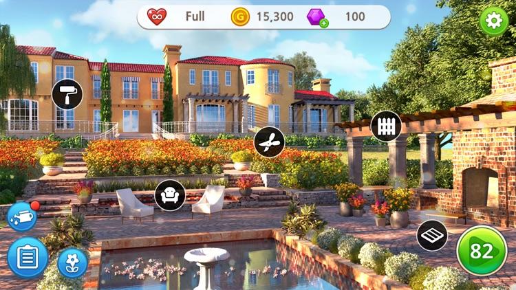 Home Design : My Dream Garden screenshot-5