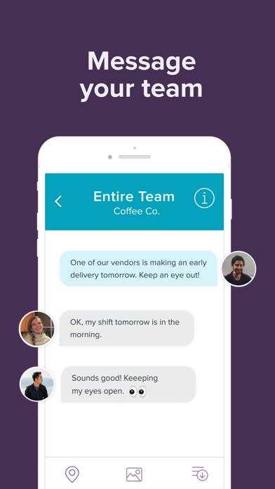 Homebase Employee Scheduling Screenshot