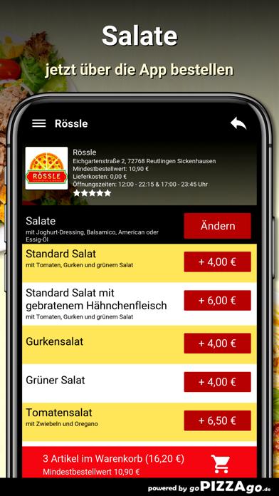 Rössle Reutlingen screenshot 5
