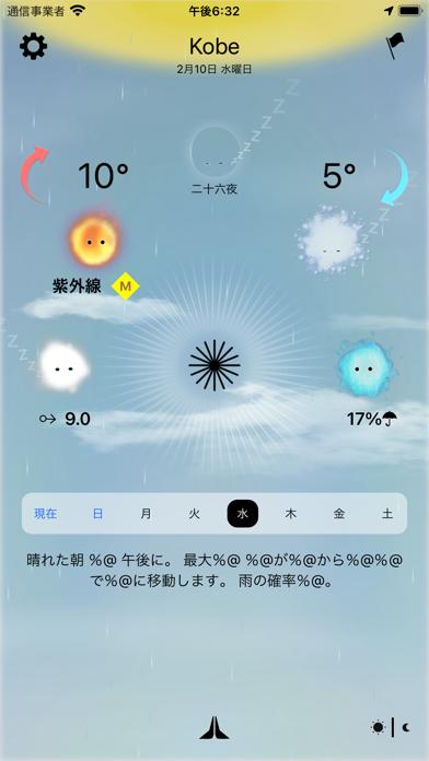今日の天気、神様が教えます - Weather Godsのおすすめ画像8