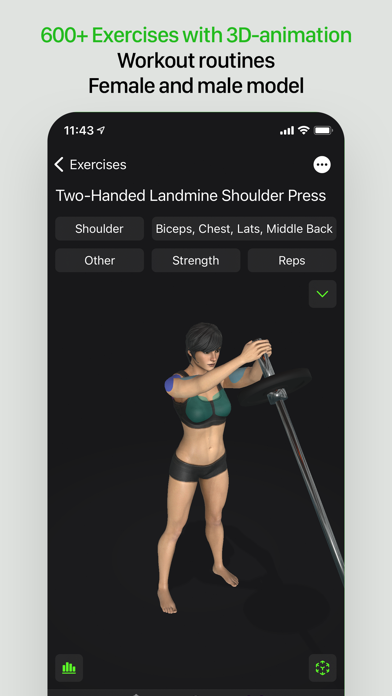 Gymaholic Workout Trackerのおすすめ画像3