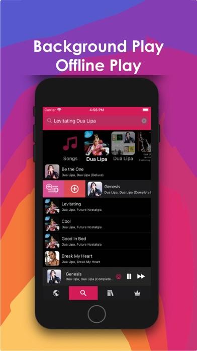 ミュージックfm オフライン ダウンロード ミュージックのスクリーンショット5