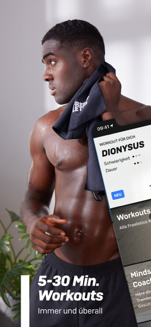 ‎Freeletics HIIT Fitness Coach Screenshot