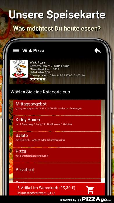Wink Pizza Leipzig screenshot 4