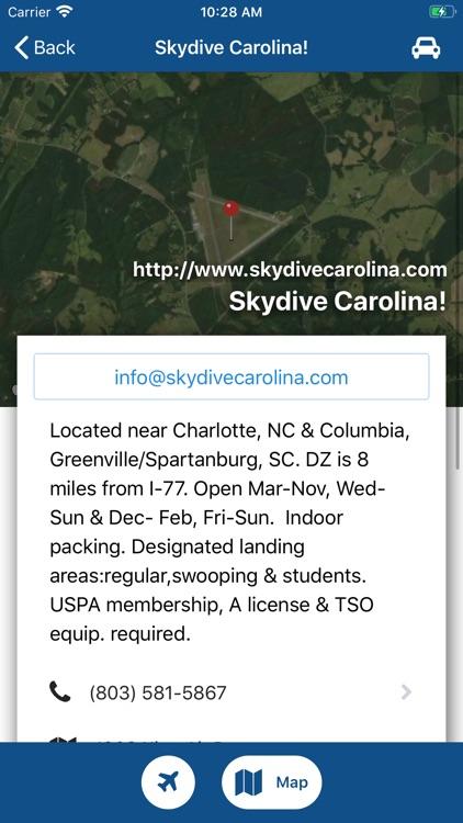Dropzones-USPA Dropzone Finder screenshot-3