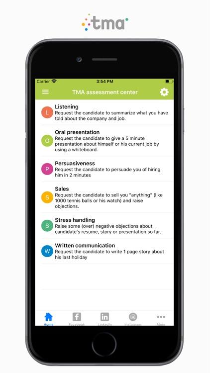TMA Job Interview Questions screenshot-3