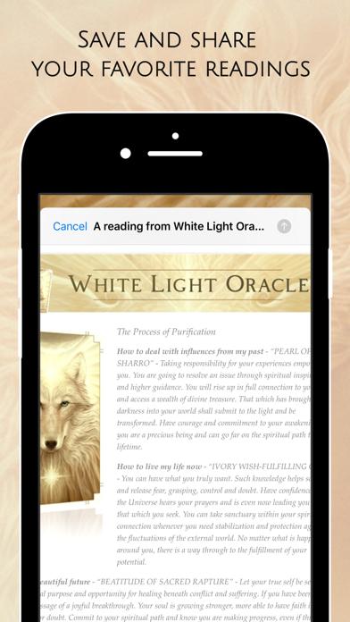 Screen Shot White Light Oracle 8