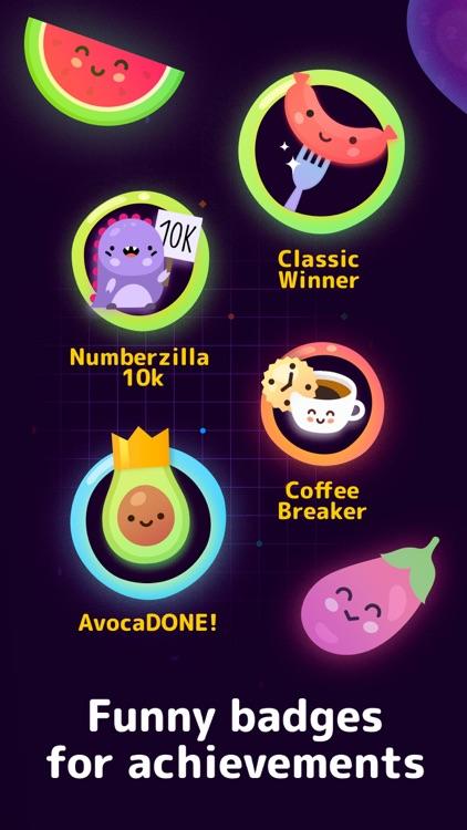 Numberzilla: Number Math Games screenshot-4