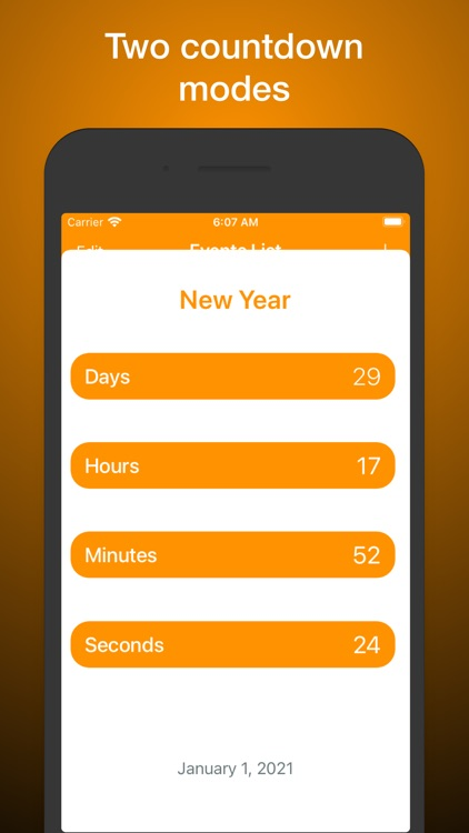 Smart Events Countdown