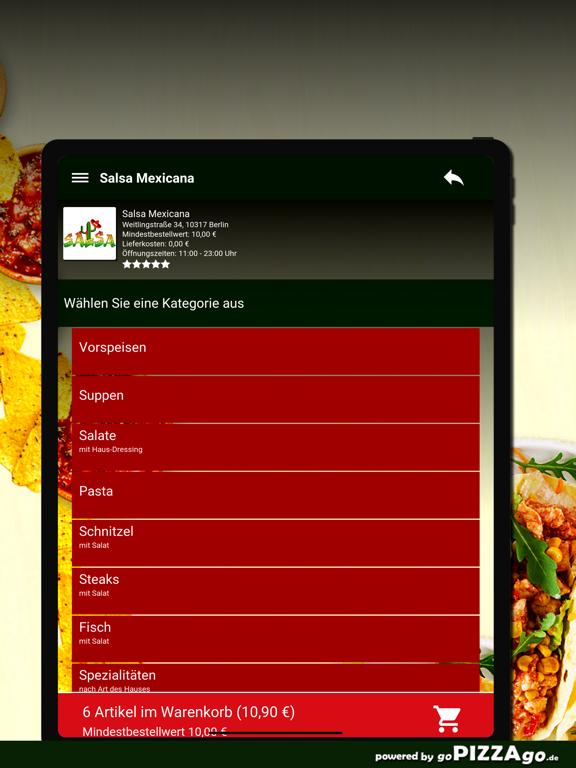 Salsa Mexicana Berlin screenshot 8