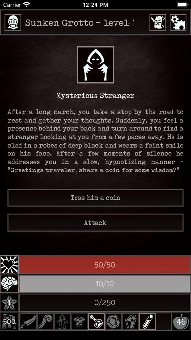 Grim Quest - Old School RPG Screenshot