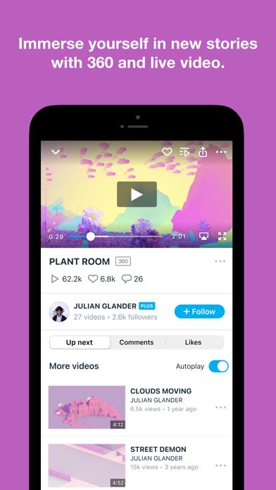 Vimeo - Ad-Free Video Player Screenshot