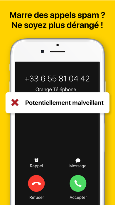 Orange Téléphone