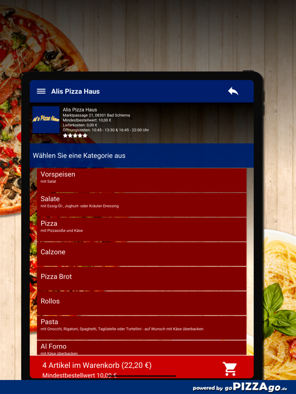 Alis Pizza Haus Bad Schlema screenshot 8