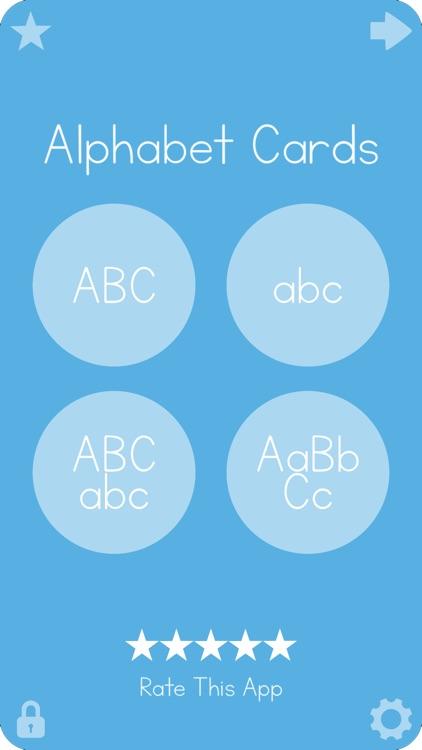 Big Alphabet Cards