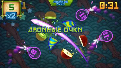 Скриншот №6 к Fruit Ninja Classic+