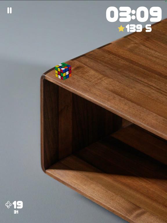 Ipad Screen Shot Rubiks Cube AR 8