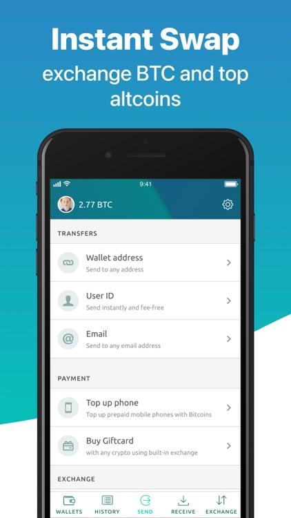 Multi Crypto Wallet-Freewallet screenshot-3