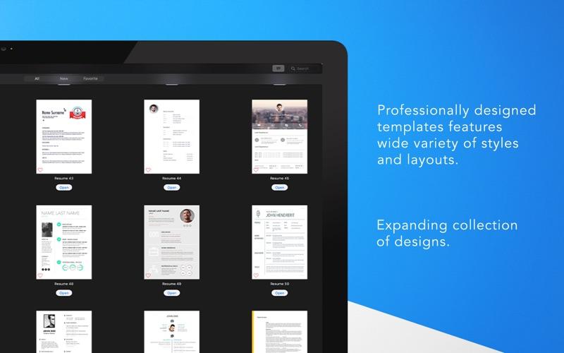 Resume Templates - DesiGN Screenshots