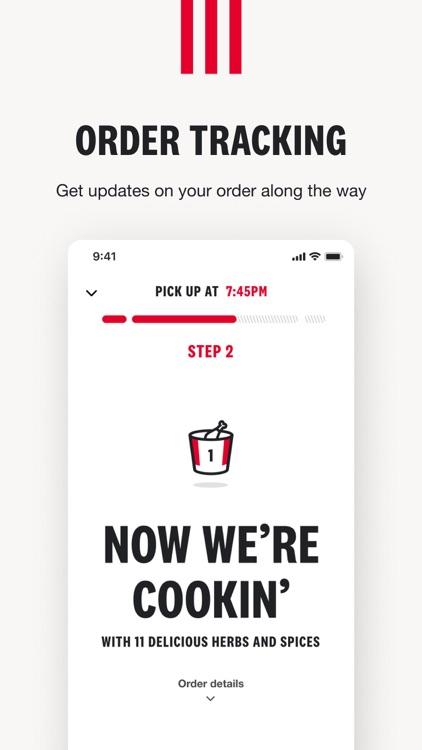 KFC US - Ordering App screenshot-3