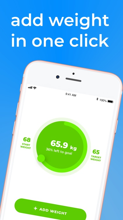 Wait Weight: scale, motivation screenshot-8
