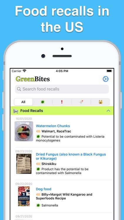 US Food Recalls screenshot-0