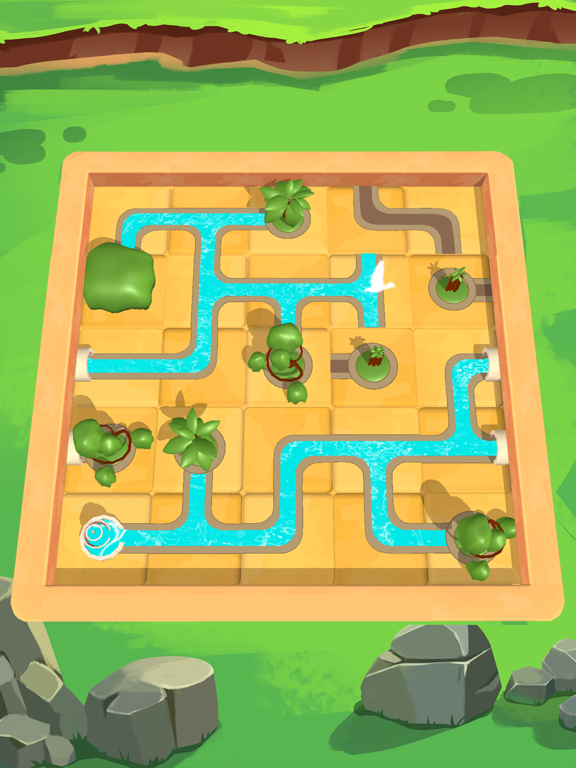 Water Connect Puzzleのおすすめ画像4