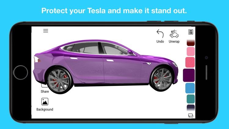 Wrap for Tesla 3D Color Change screenshot-4