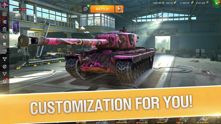 World of Tanks Blitz 3D War screenshot-0