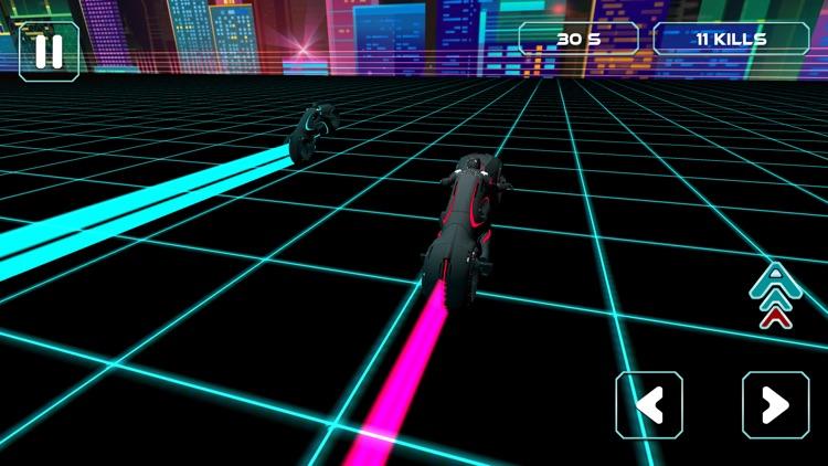 Neon Race - Light Bike Race screenshot-5