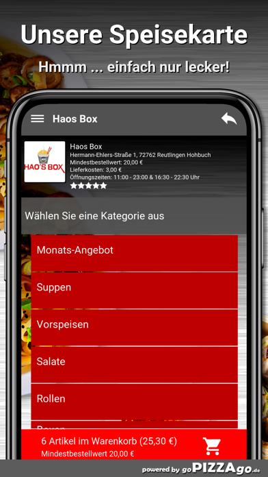 Haos Box Reutlingen Hohbuch screenshot 4