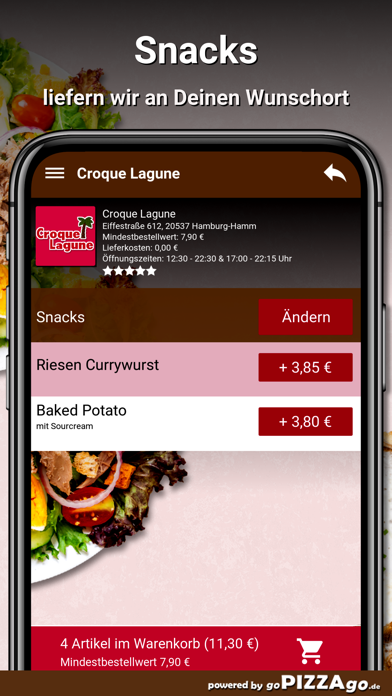 Croque Lagune Hamburg screenshot 6