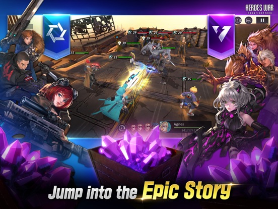 Heroes War: Counterattack screenshot 13