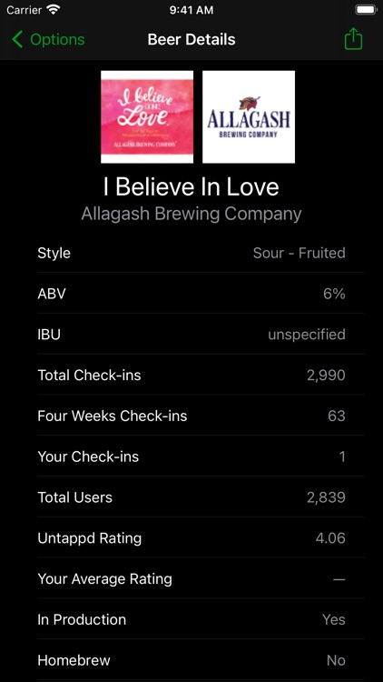 Tappd That for Untappd screenshot-5
