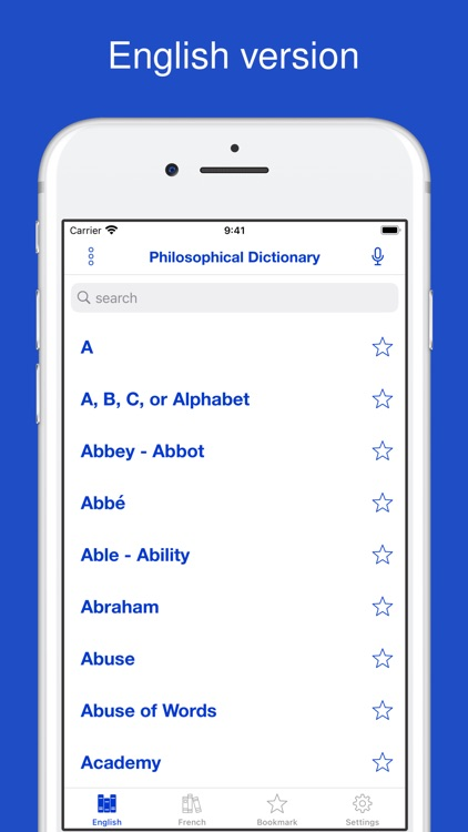 A Philosophical Dictionary