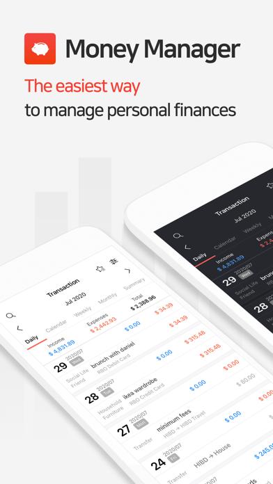 Money Manager Expense & BudgetСкриншоты 1