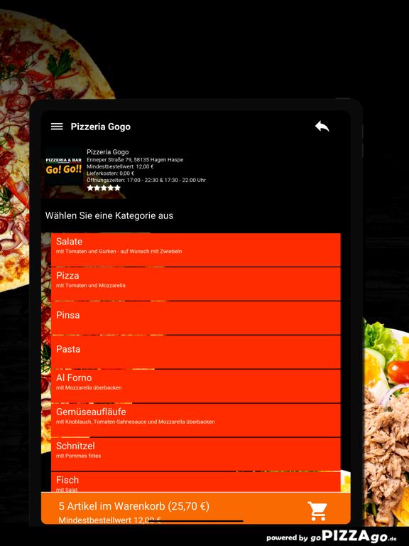Pizzeria Gogo Hagen Haspe screenshot 8