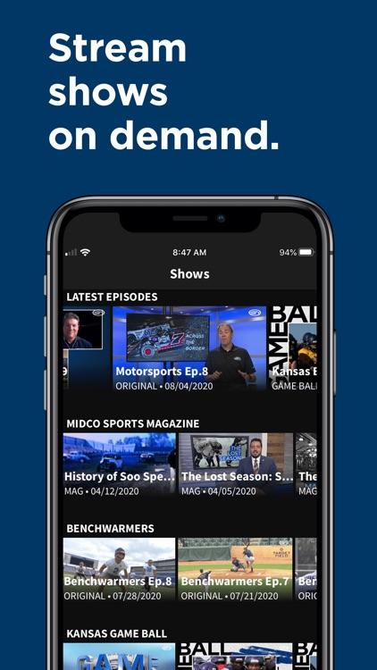 Midco Sports Plus screenshot-5