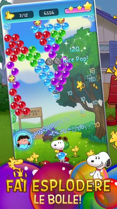 Screenshot of Snoopy Pop1