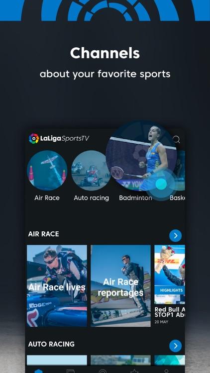 LaLiga Sports TV - Live Videos screenshot-4